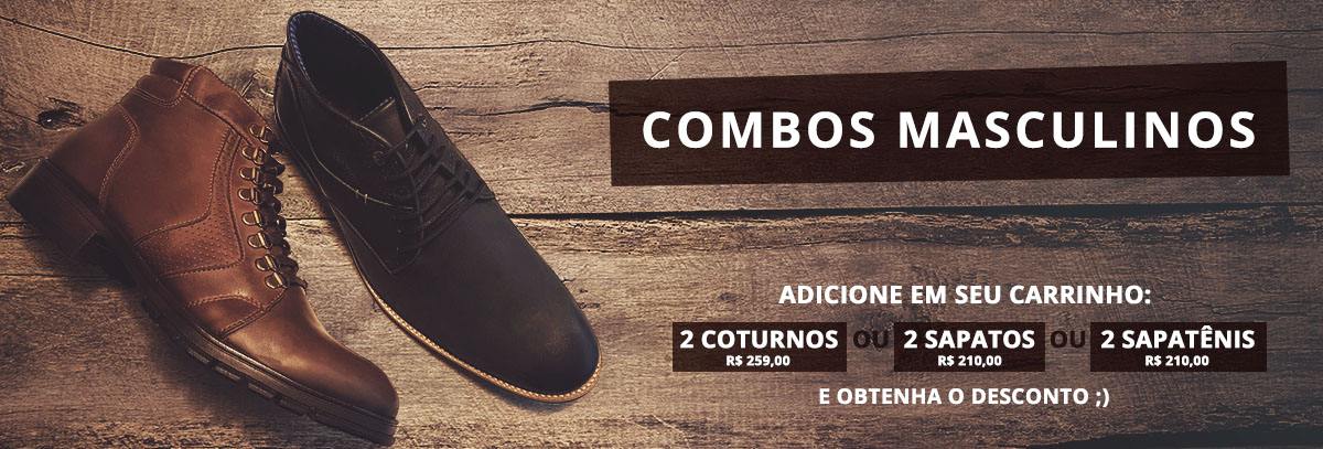 Banner - Combos Masculinos