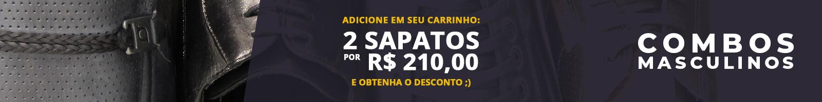 Banner - Topo - Categoria - Combos - Sapatos