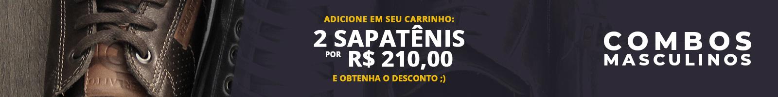 Banner - Topo - Categoria - Combos - Sapatênis
