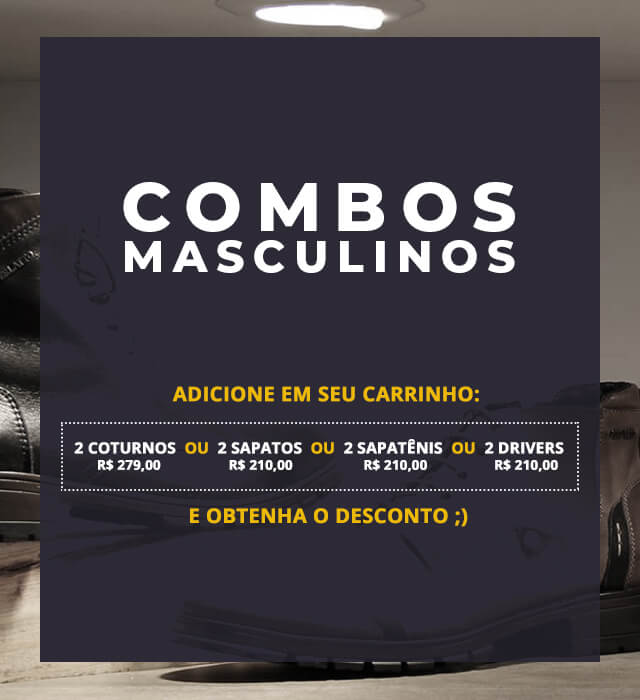 Banner - Combos Masculinos - MOBILE