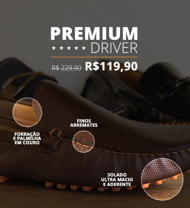 Banner - Drivers Masculinos - MOBILE