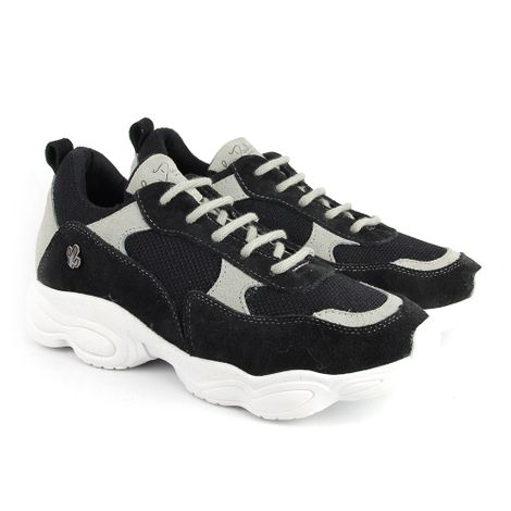 c01820073 Sandalia-6268101-preto-coral-ouro em Feminino - Chunky Sneaker ...
