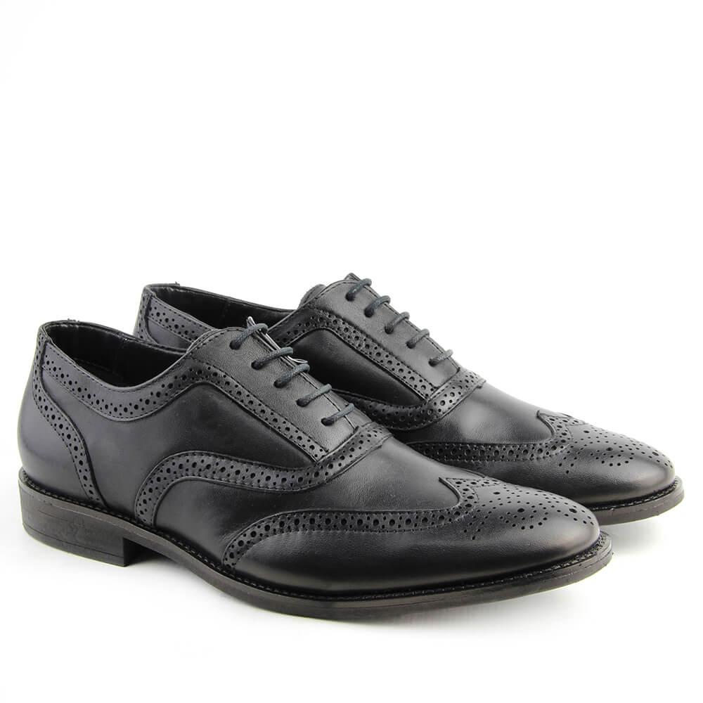 1a950c5bb1 Sapato Oxford Masculino 7120 Preto - Perlatto