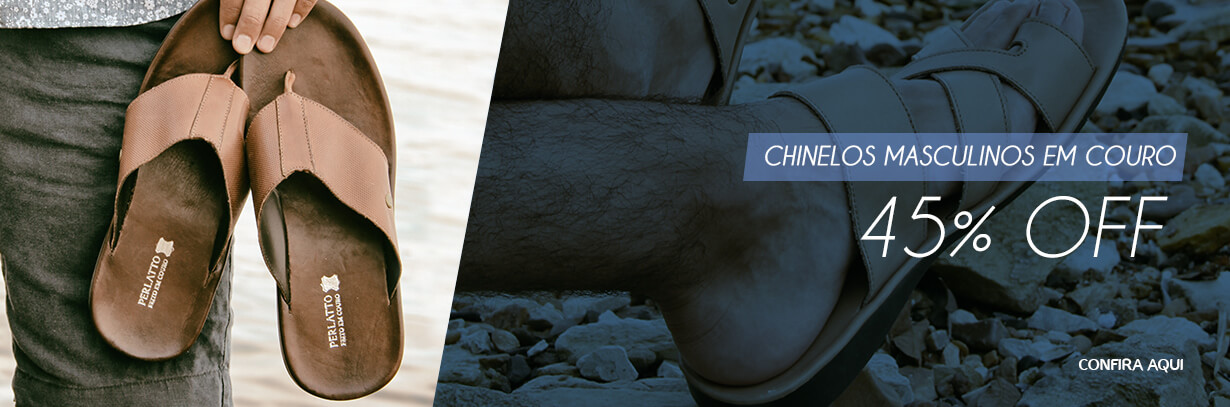 Banner - Chinelos Masculinos