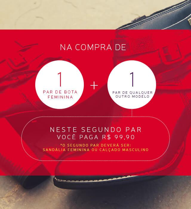 Banner - Compre Bota + Segundo Par - MOBILE