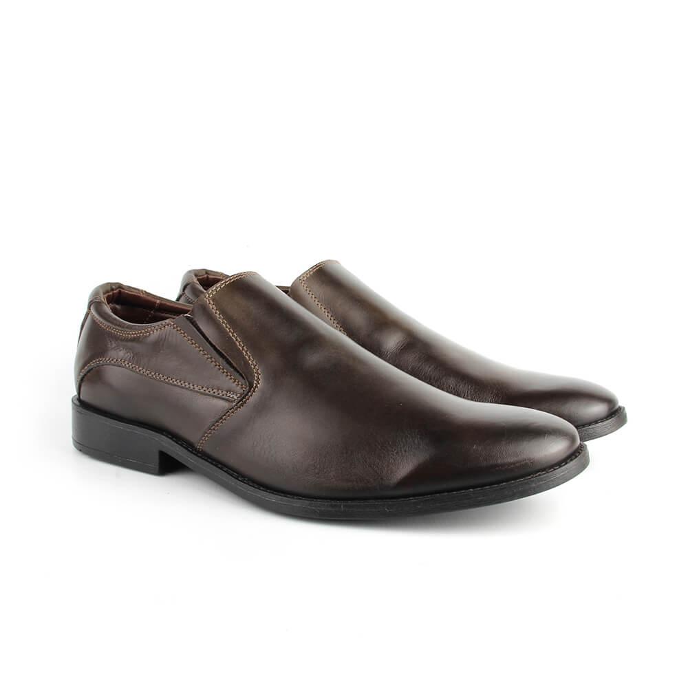 c41454c19 Sapato Casual Masculino 7143 Café Burned - Perlatto