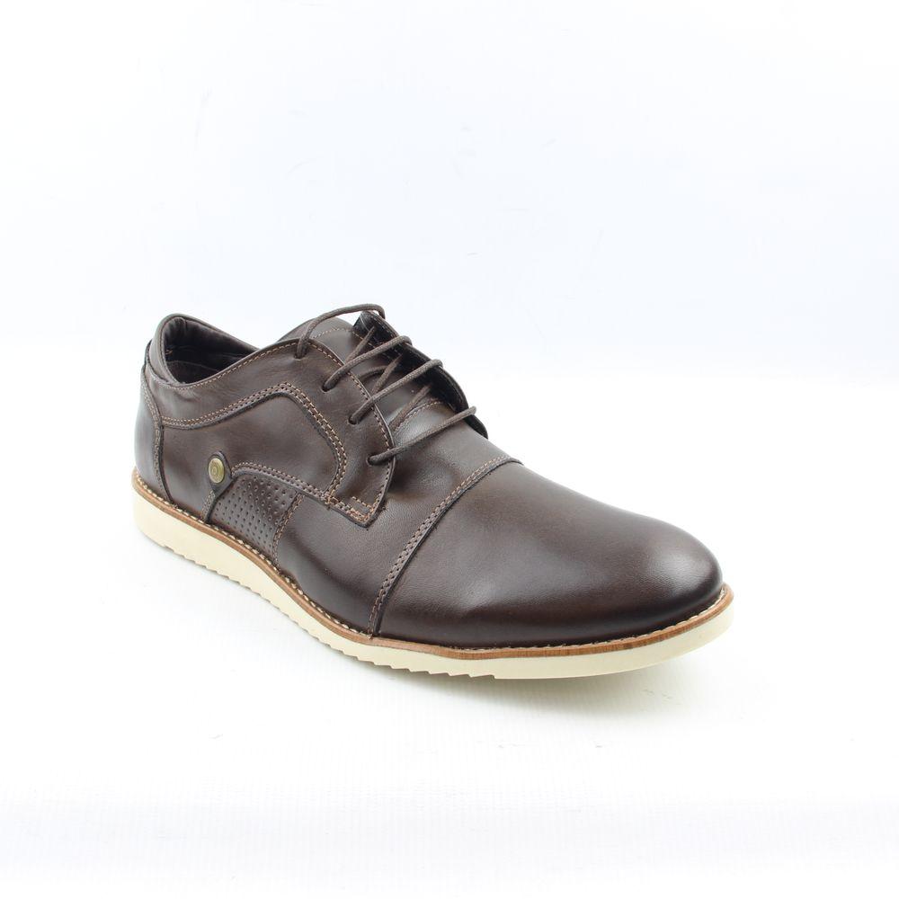 dd87a92a7 Sapato Casual Masculino 8407 Café Burned - Perlatto